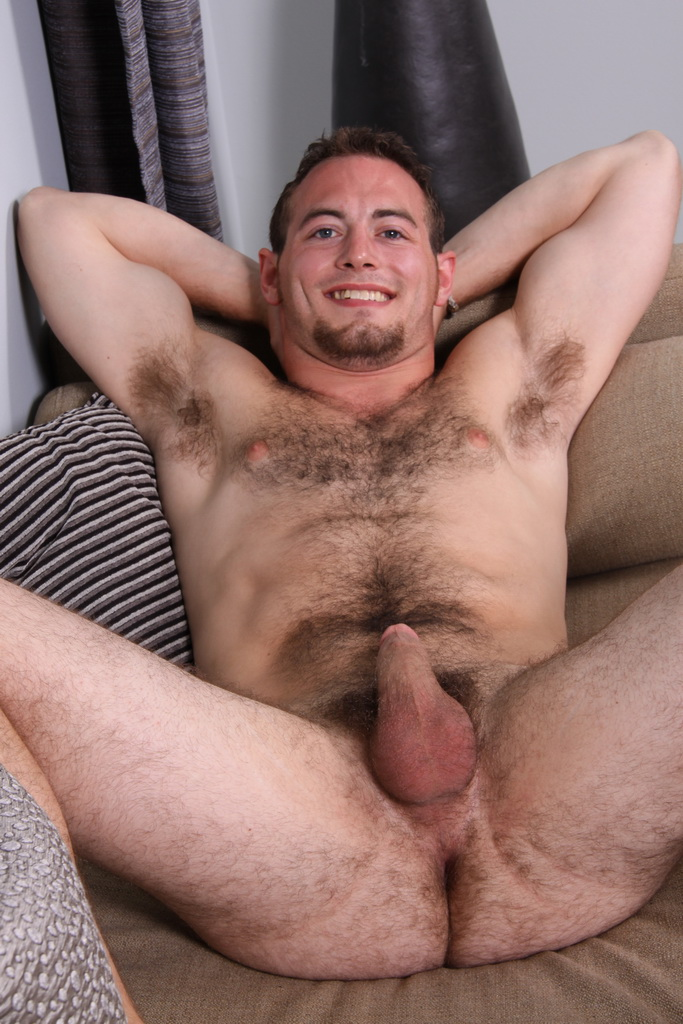 What Hot hairy amateur nude stud