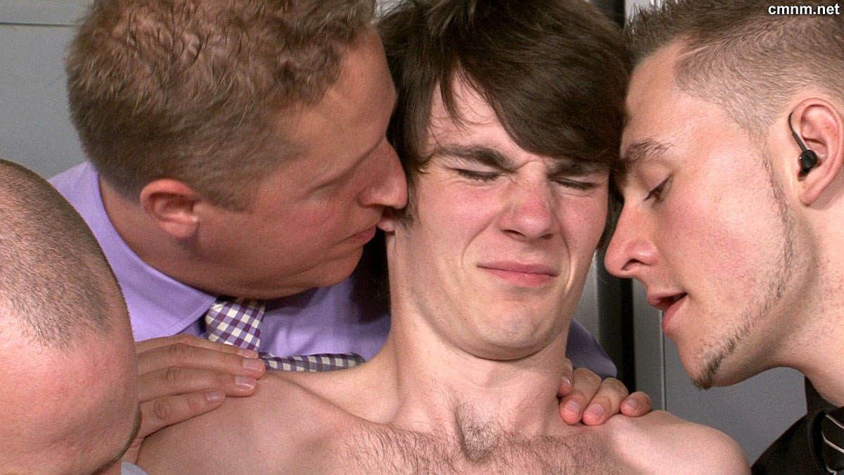 Straight guy abused by doctor and two gay 5