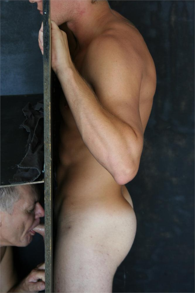 Naked australian males at glory hole