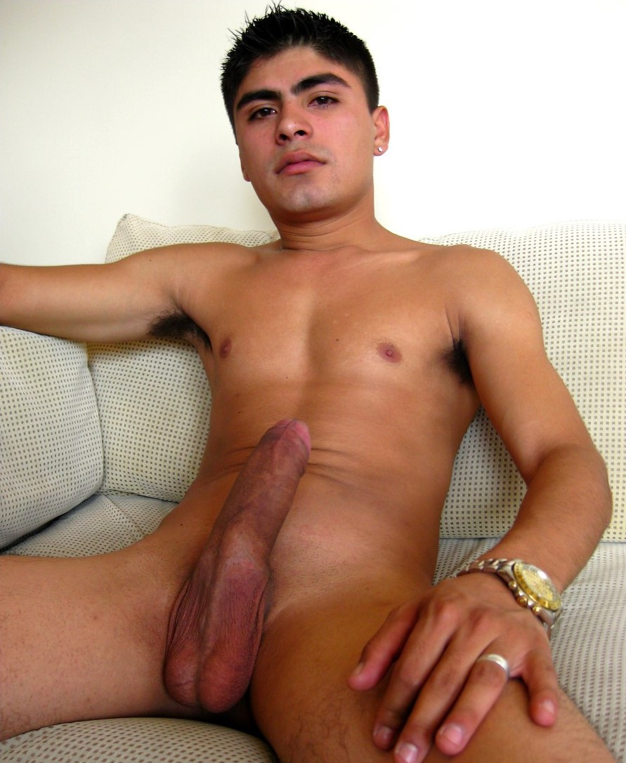 image Two naked latino boys on the bed and my