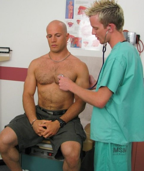 College Wresting Coach Maddox Physical Exam