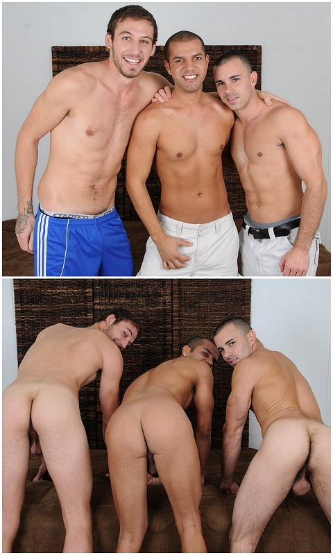 3 Straight Guys Playing Strip Truth or Dare