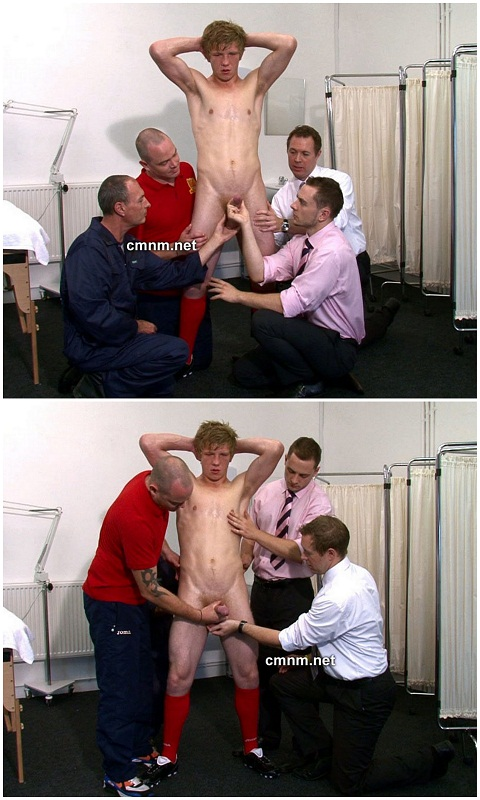 Straight Charlie Under Control of Horny Men
